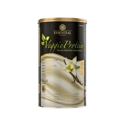 Veggie Protein - Proteína 100% Vegetal - Baunilha - Essential - 450g