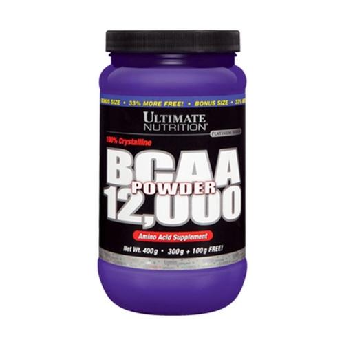 BCAA Powder 12.000 - Ultimate Nutrition - Sem Sabor - 300g + 100g Bônus