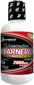 L Carnergy Science 2000mg - Performance Nutrition - Limão - 474ml
