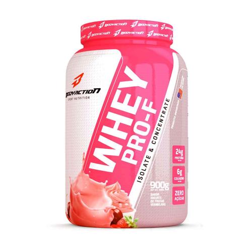 Whey Pro-F Body Action - Iogurte com Frutas Vermelhas - 900g