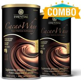 2 Unidades Cacao Whey Hidrolisado - Essential - 450g (cada)