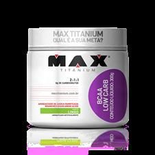 BCAA Low Carb - Max Titanium - Limão - 300g