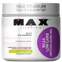 BCAA Low Carb Sabor Maçã Verde (300g) - Max Titanium