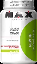 New Up - Max Titanium - Maçã Verde - 1Kg