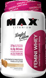 Femini Whey Max Titanium - Paçoca - 900g