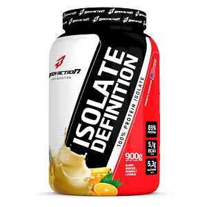 Isolate Definition - Body Action - Banana e Canela - 900g Grátis 1 Amostra Delicious Whey