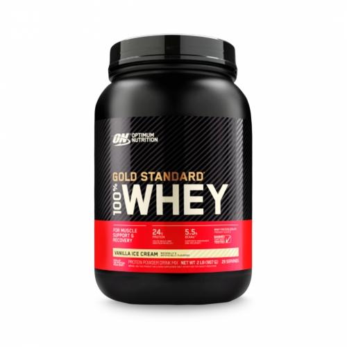 100% Whey Protein Gold Standard Sabor Baunilha (909g) - Optimum Nutrition