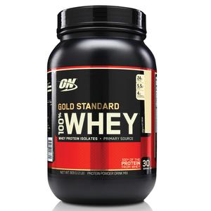 100% Whey Protein Gold Standard - Baunilha - 909g - Optimum Nutrition