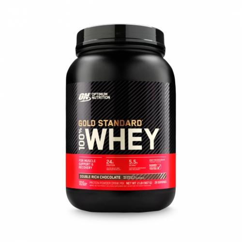 100% Whey Protein Gold Standard Sabor Chocolate (909g) - Optimum Nutrition