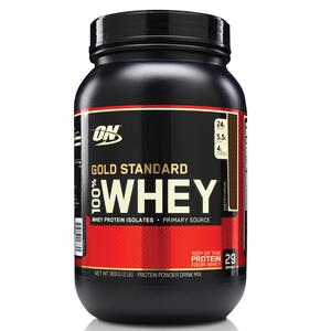 100% Whey Protein Gold Standard - Chocolate - 909g - Optimum Nutrition