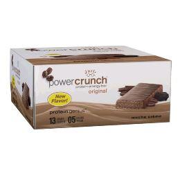 Power Crunch Original Bio Nutricional - Mocha - 12 unidades 40g