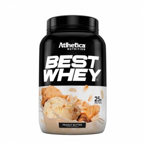 Best Whey Sabor Amendoim (900g) - Atlhetica Nutrition