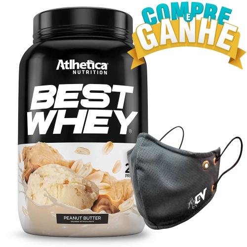 Compre Best Whey Sabor Amendoim (900g) e Ganhe Camiseta Best Whey - Atlhetica Nutrition