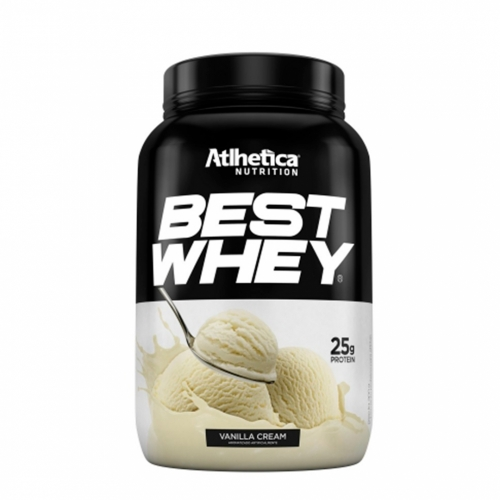 Best Whey Sabor Baunilha (900g) - Atlhetica Nutrition