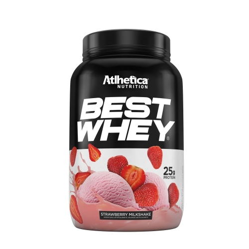 Best Whey - Atlhetica Nutrition - Morango - 900g