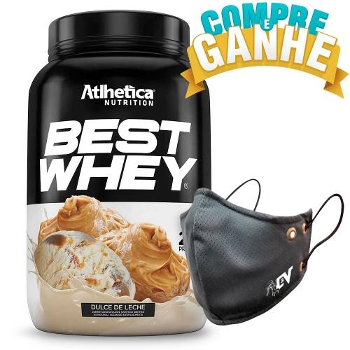 Compre Best Whey Sabor Doce de Leite (900g) e Ganhe Camiseta Best Whey - Atlhetica Nutrition