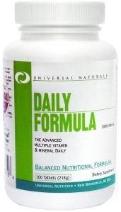 Daily Formula Universal - 100 Tabletes