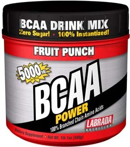 BCAA Power Labrada Fruit Punch - 500g