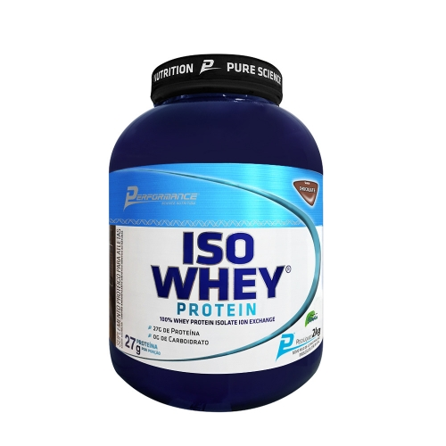 Iso Whey Protein Com Stevia (2Kg) - Performance Nutrition