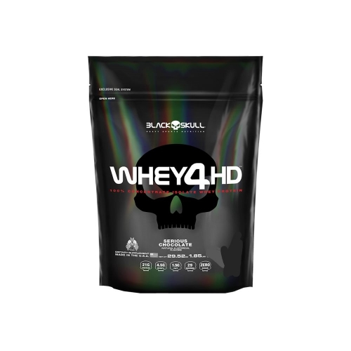 Whey 4 HD (2,2 Kg Refil) - Black Skull