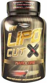 Lipo Cut X Hardcore - Arnold Nutrition - 120 Cápsulas