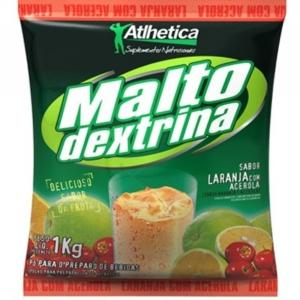 Maltodextrina Atlhetica Evolution Tangerina - 1kg