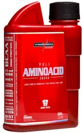 Poli Amino Acid 38000 (ZMA Cr) IntegralMedica Morango - 600 ml