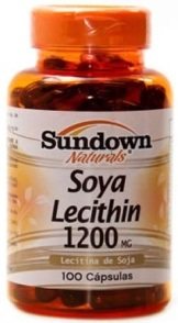 Soya Lecithin 1200 mg Sundown - 100 Cápsulas